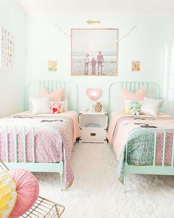 cute-shared-kids-room-with-pastel-color