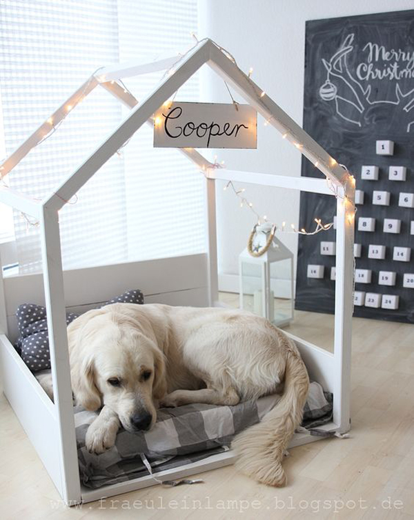 dog-canopy-bed-design