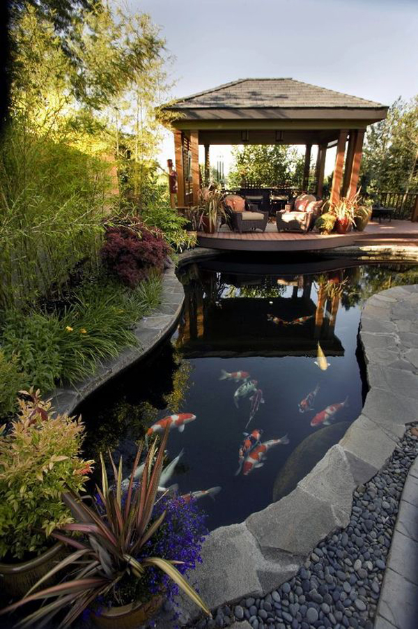 outdoor-gazebo-with-fish-pond-ideas