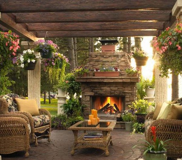 20 Coziest Outdoor Fireplace Ideas For Relax Of The Day