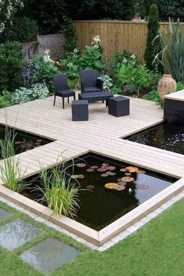outdoor-lounge-chair-with-deck-pond