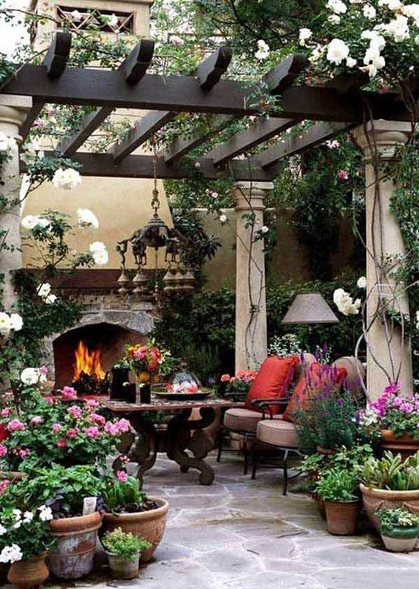outdoor-patios-with-fireplace-decor