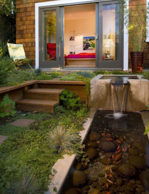 small-backyard-fish-pond-with-water-features