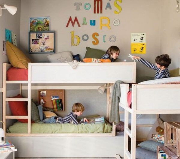 10 Shared Kids Room Ideas With Double Pleasure