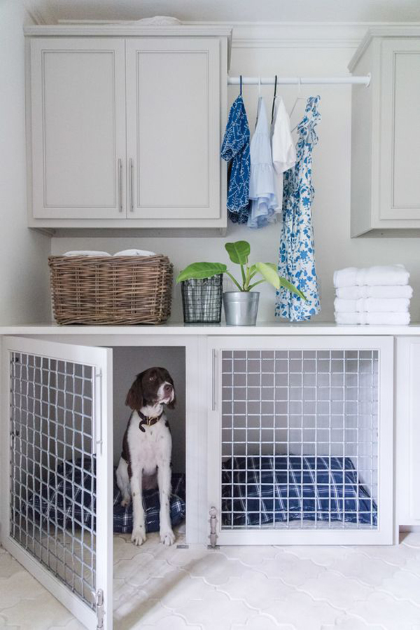 trendy-dog-kennel-under-loundry-cabinet