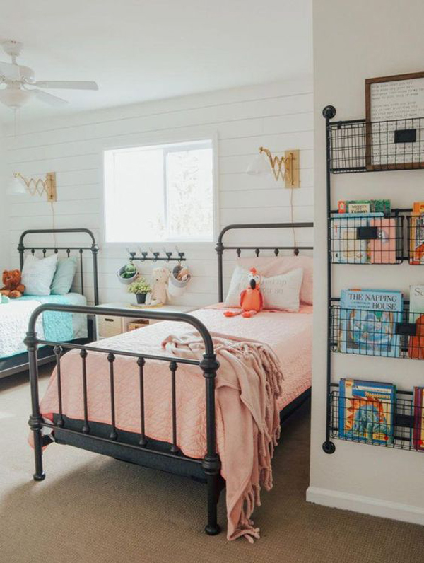 vintage-shared-kids-room-ideas
