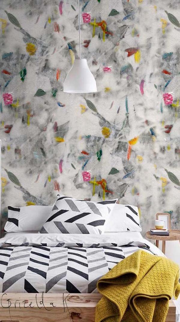 beautiful-mosaic-bedroom-wall-decor