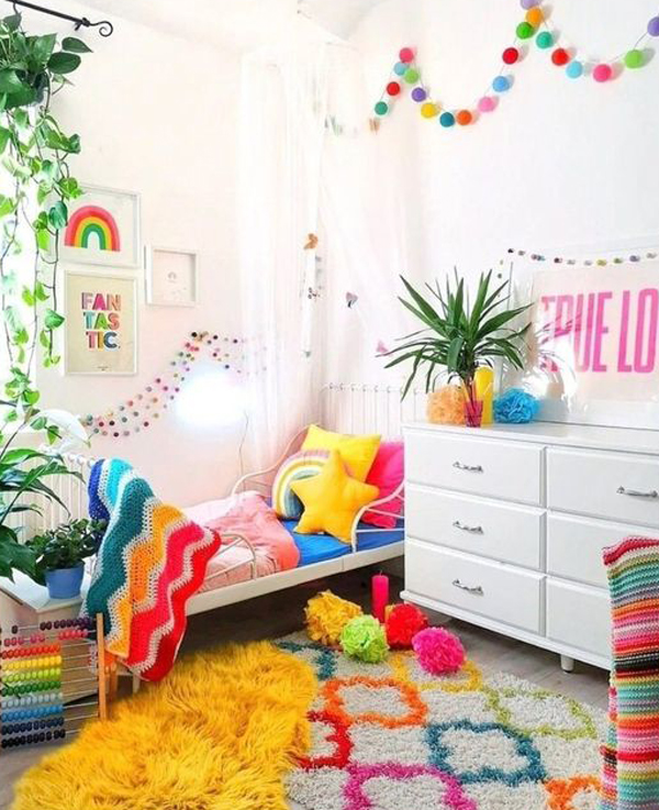 beautiful-rainbow-themed-kids-bedroom