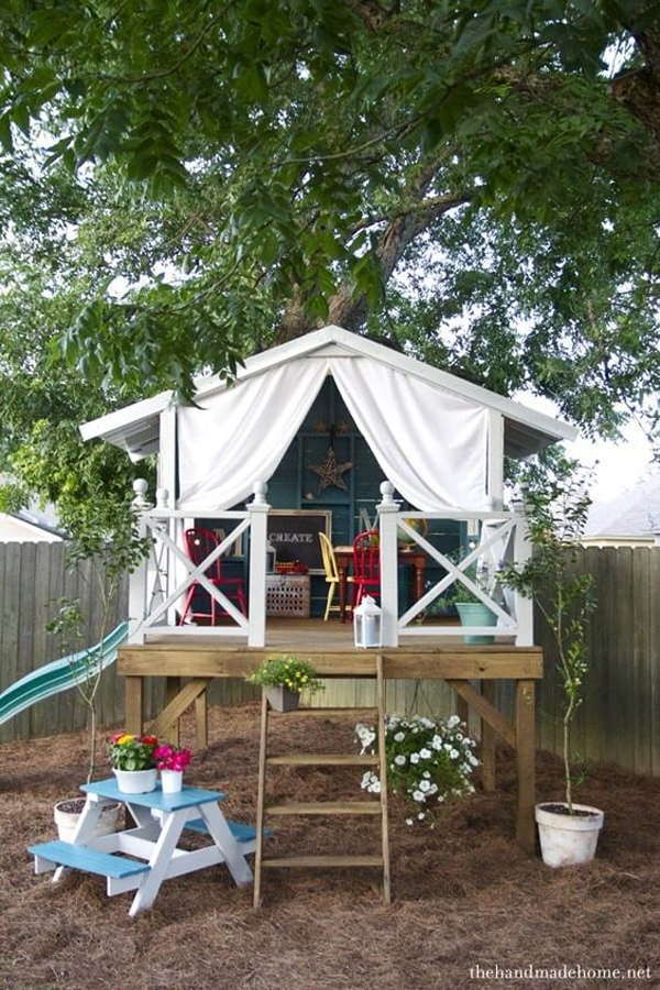 beautiful-treehouse-playhouse-for-kids