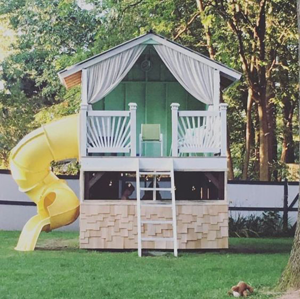 best-treehouse-design-with-play-slide