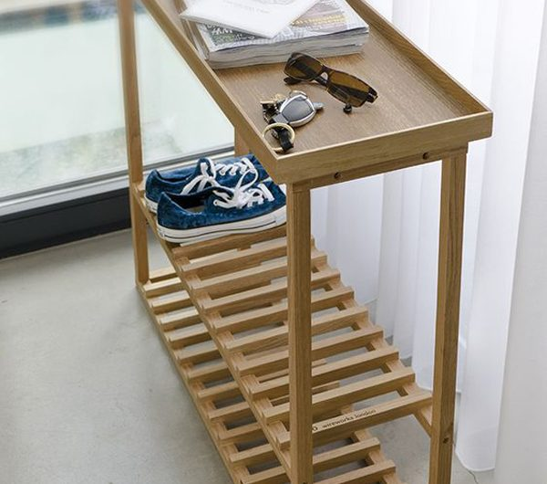 7 Cool And Stylish Wooden Shoe Rack Ideas