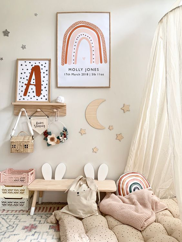 bohemian-rainbow-nursery-decoration