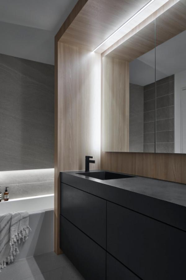 contempory-black-bathroom-sinks