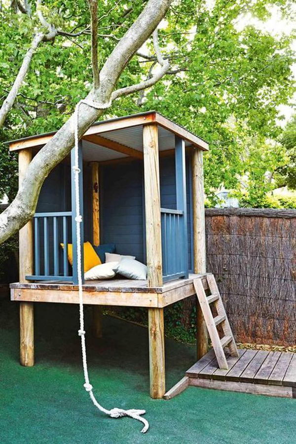 easy-diy-treehouse-ideas-for-kids-play