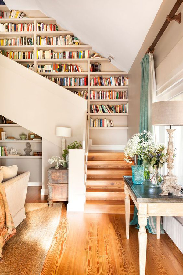 home-library-ideas-for-staircase