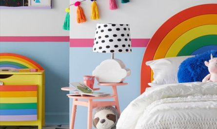 modern-and-minimalist-rainbow-themed-bedroom