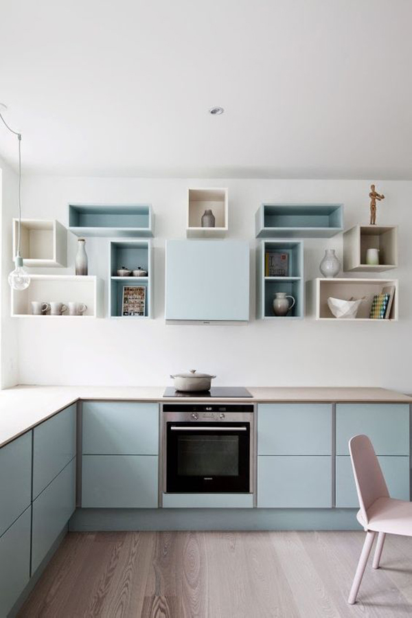 modern-blue-kitchen-with-shelves-wall