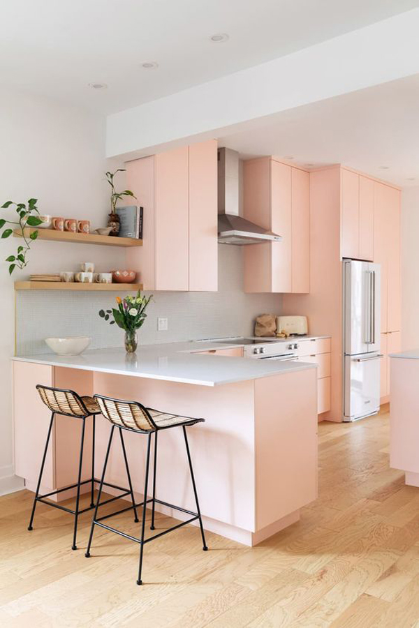 modern-pastel-pink-kitchen-design