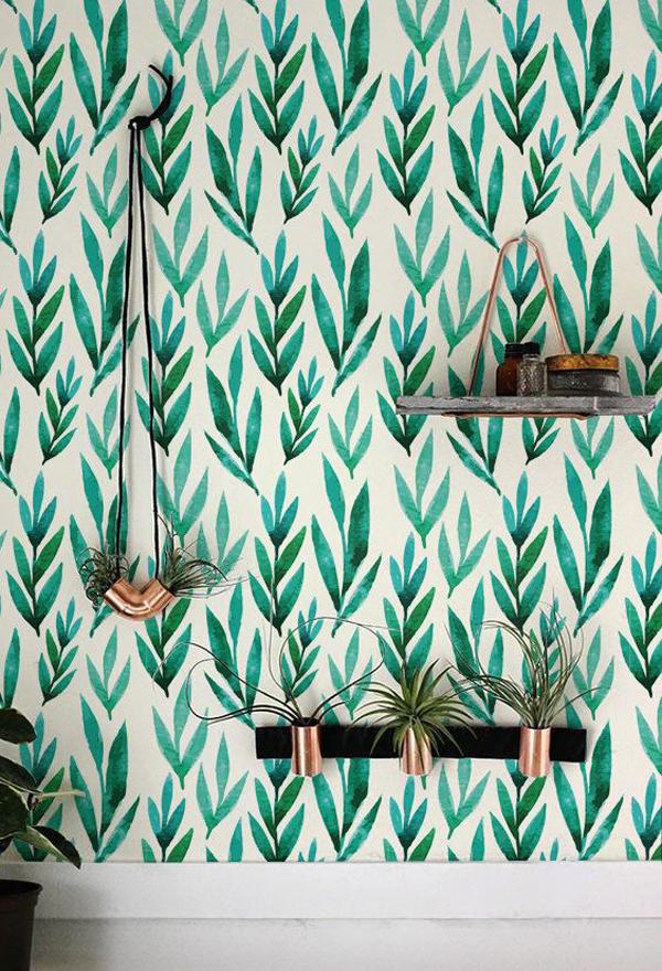 natural-leaf-boho-wall-ideas