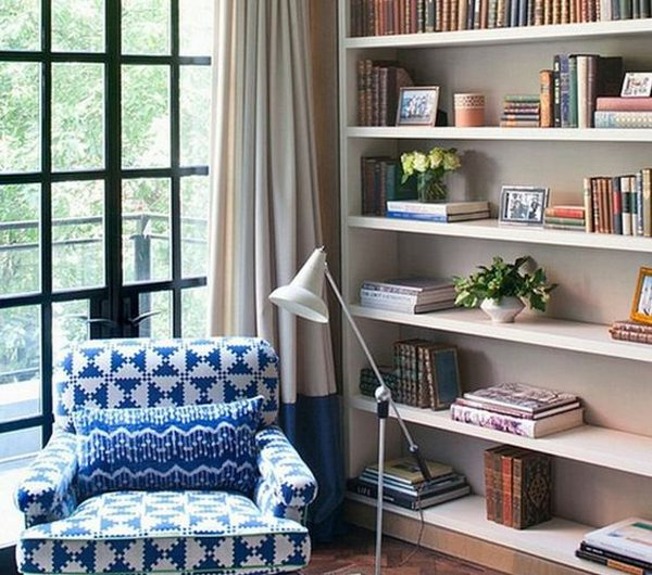 10 Awesome Home Library Ideas That Blend Into The Room