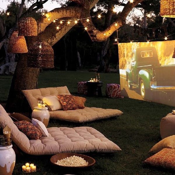 outdoor-cinema-with-bean-bag-chair