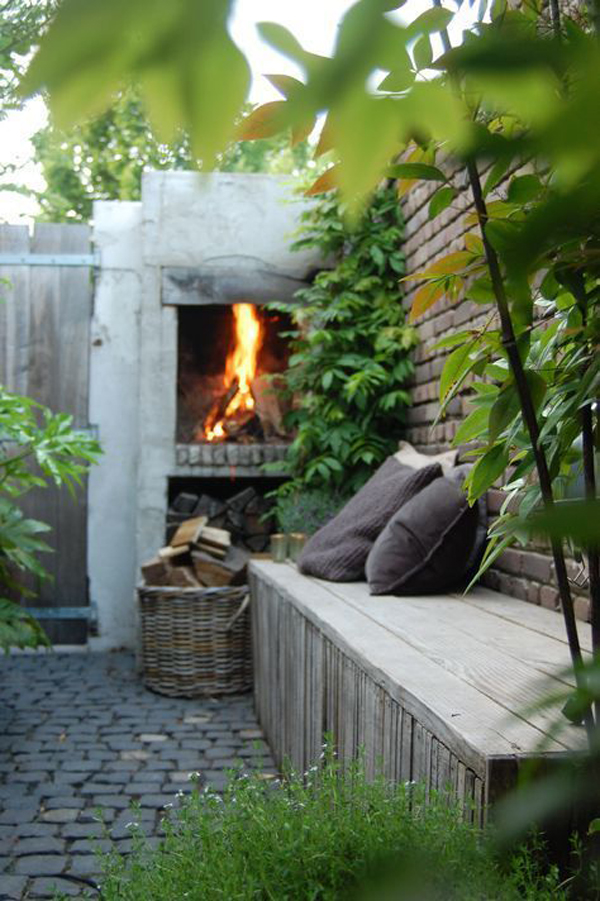 private-garden-nook-with-fireplace