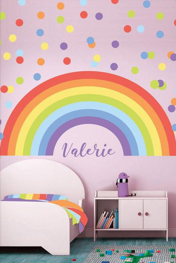 rainbow-nursery-wall-decals