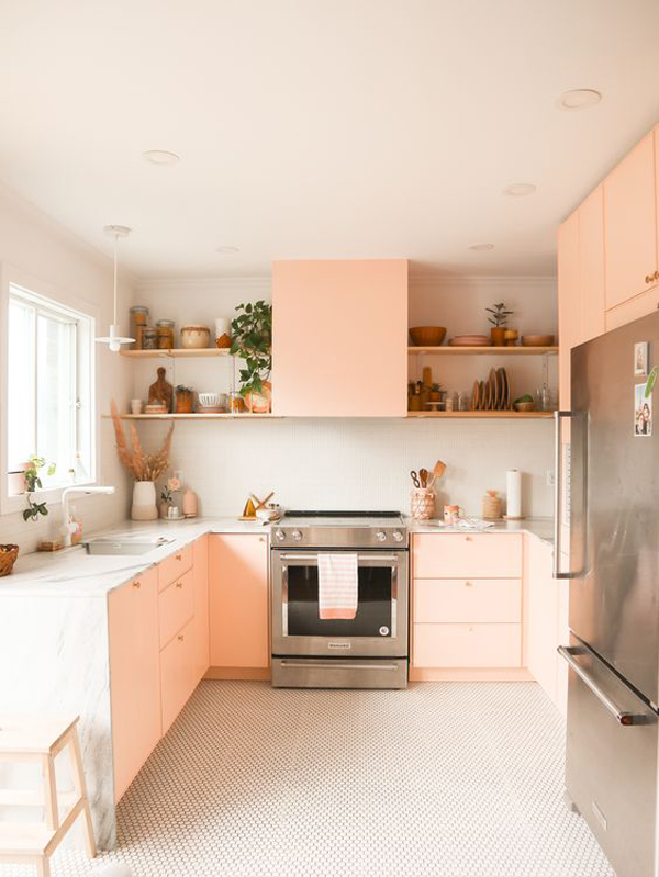 soft-pink-kitchen-color
