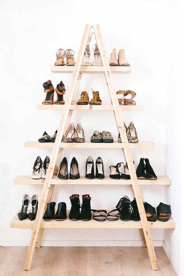 triangle-diy-shoe-rack-design
