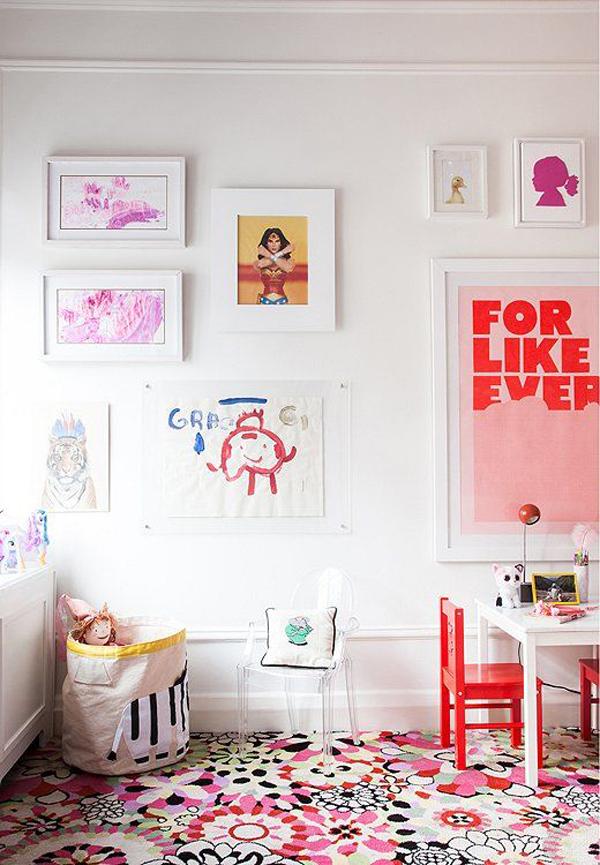 adorable-kids-wall-frame-and-art-display