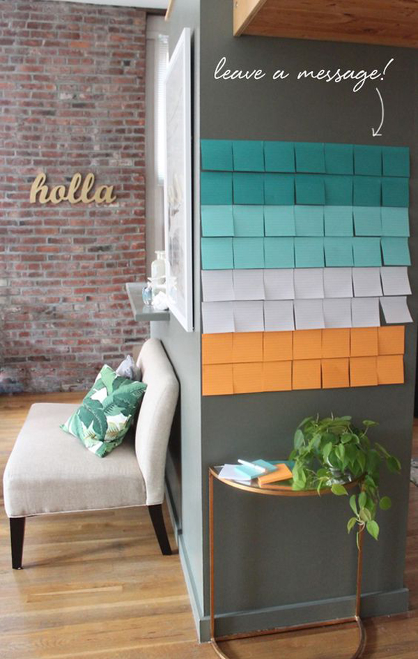 aesthetic-sticky-note-wall-ideas