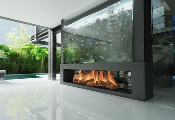 amazing-double-sided-aquarium-with-fireplace