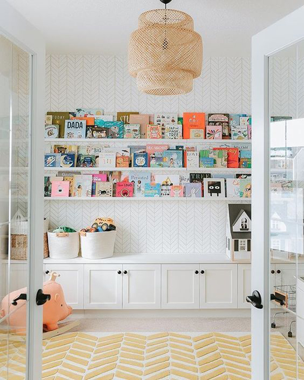 beautiful-chic-kids-home-libraries