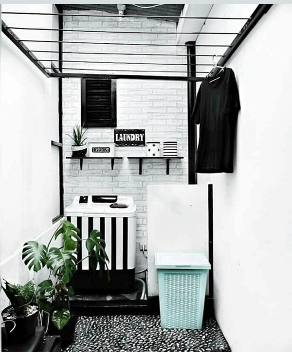 black-and-white-outdoor-laundry-room