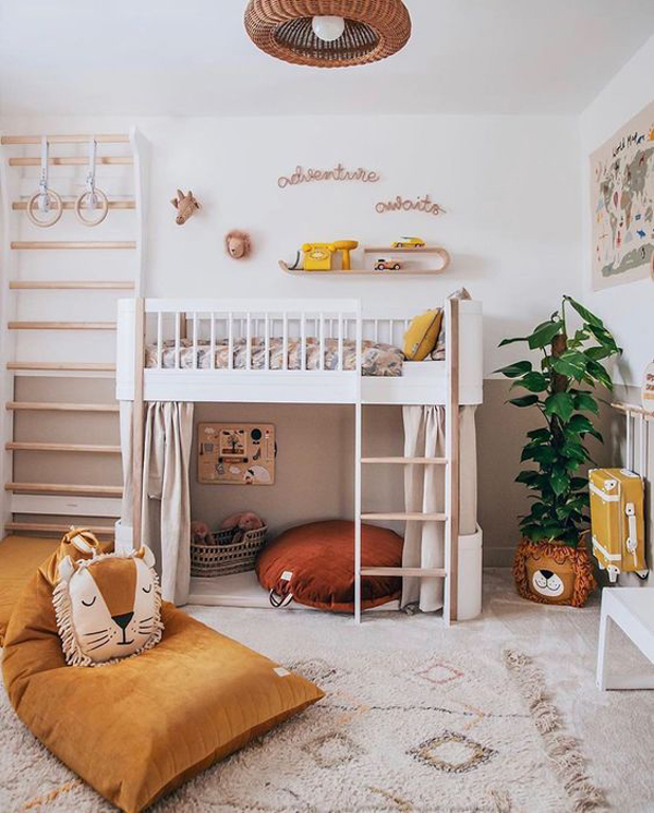 boho-chic-kid-loft-beds
