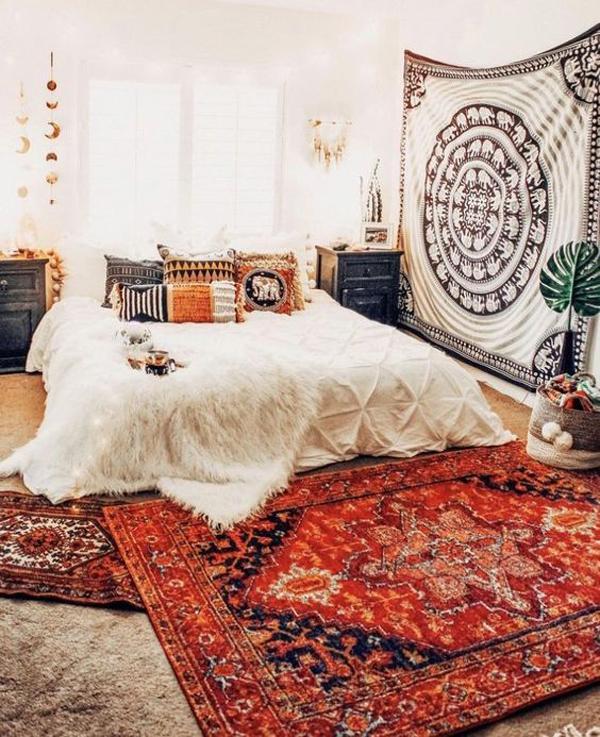 boho-elephant-tapestry-bedroom-ideas