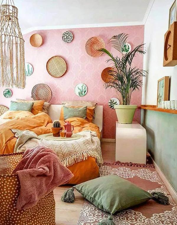 colorful-boho-bedroom-decoration