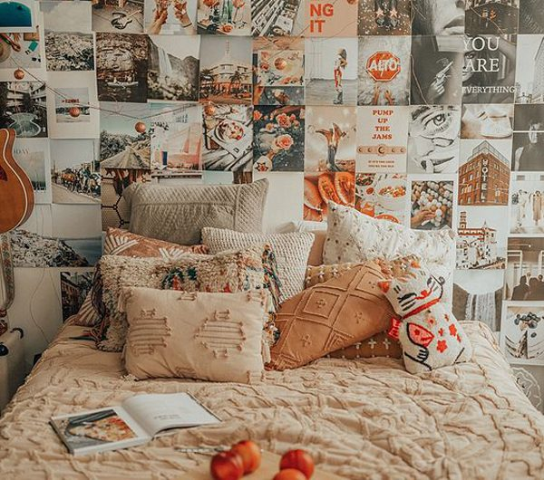 14 Aesthetic Dorm Wall Decor For Beautiful Girl