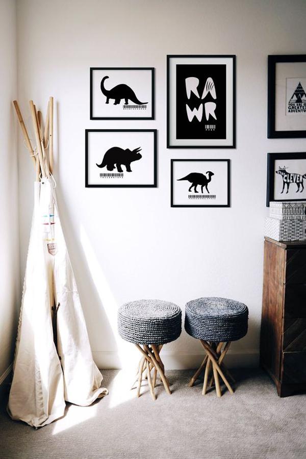dinosaur-print-walls-for-kids-room