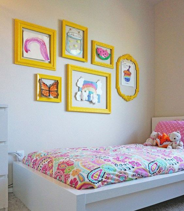 display-kids-artwork-ideas-in-the-wall