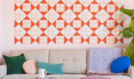 diy-sticky-notes-mural-for-living-room