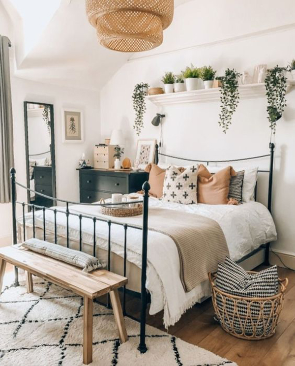 eclectic-boho-bedroom-style