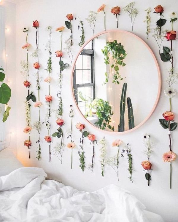 hanging-flower-wall-decoration