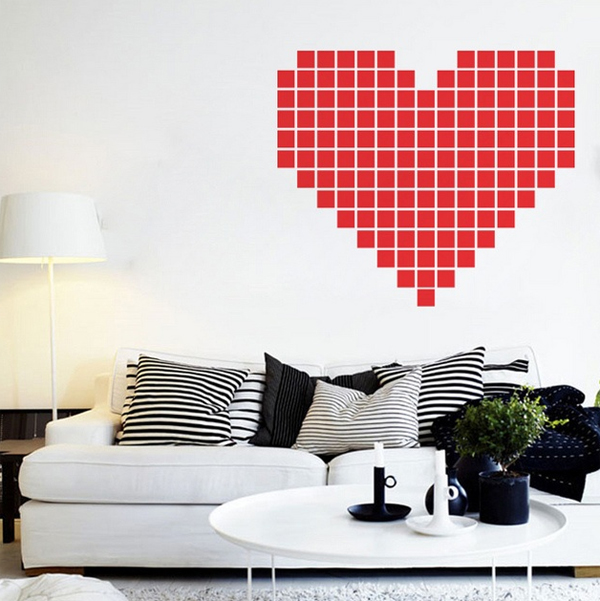 heart-diy-stycky-notes-wall