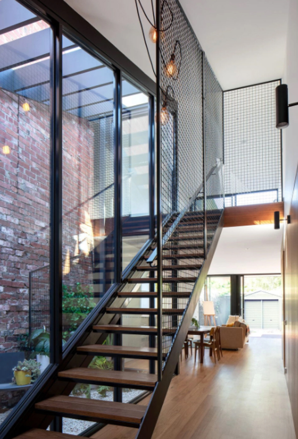 industrial-glass-staircase-design
