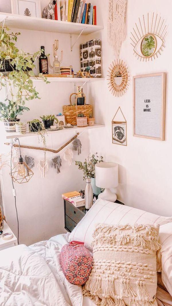 inspiring-boho-bedroom-wall
