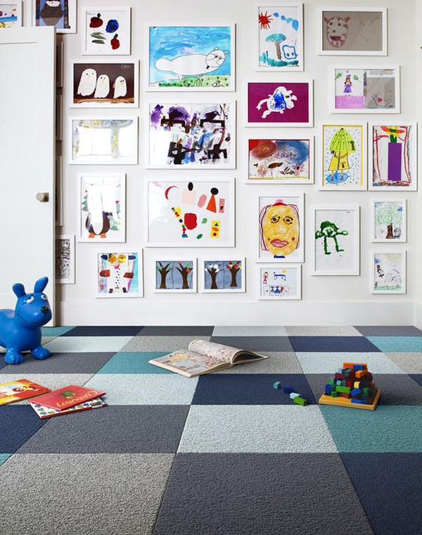kids-gallery-art-wall-ideas