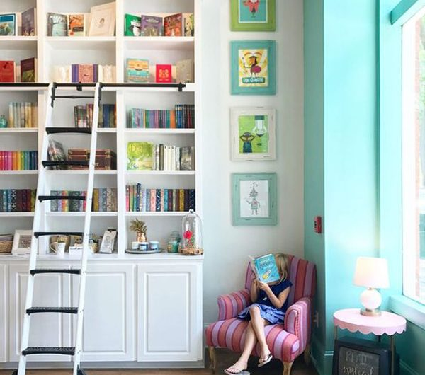 20 Awesome Home Libraries That Kids Will Love