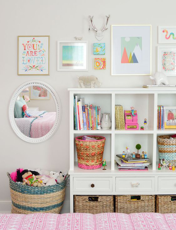 little-girl-bedroom-ideas-with-gallery-walls