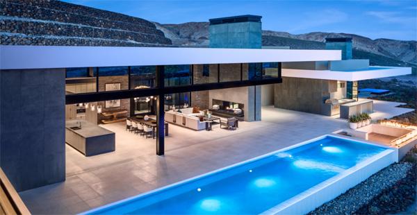 luxury-backyard-pool-with-lights